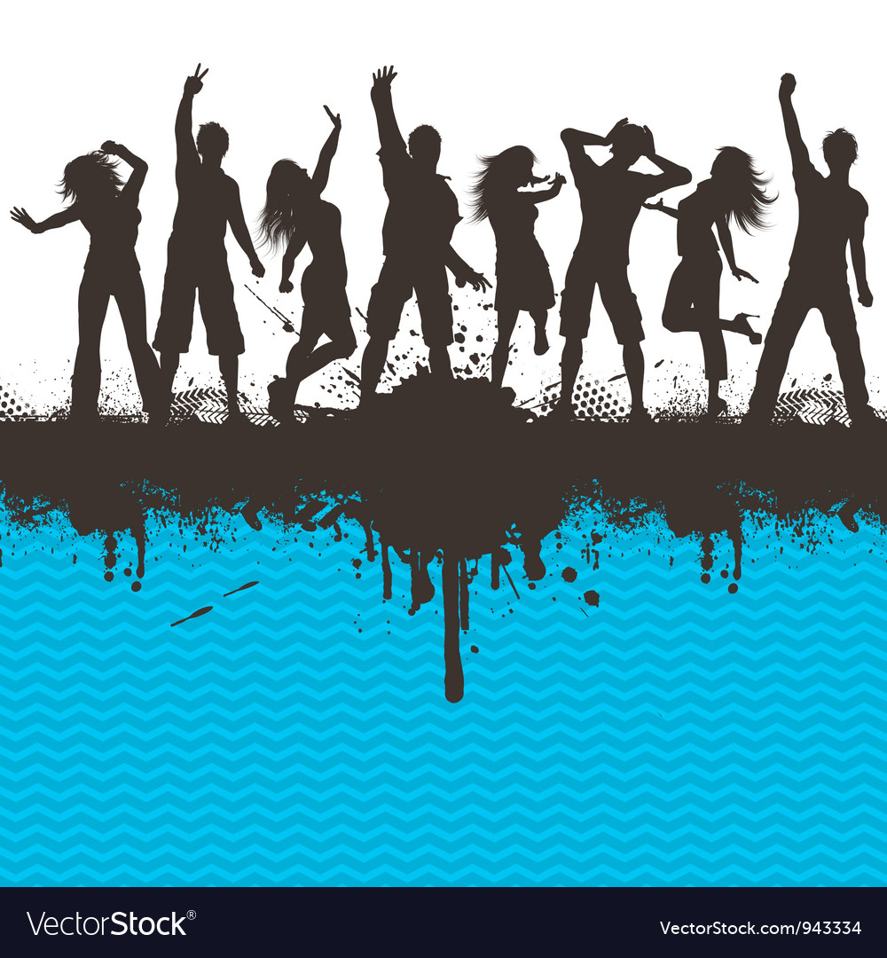 Grunge party 2803 vector