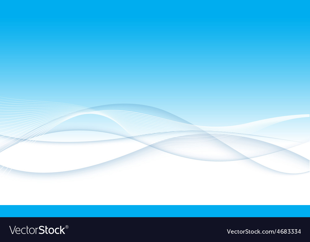 Modern abstract blue swoosh wave certificate vector | Price: 1 Credit (USD $1)