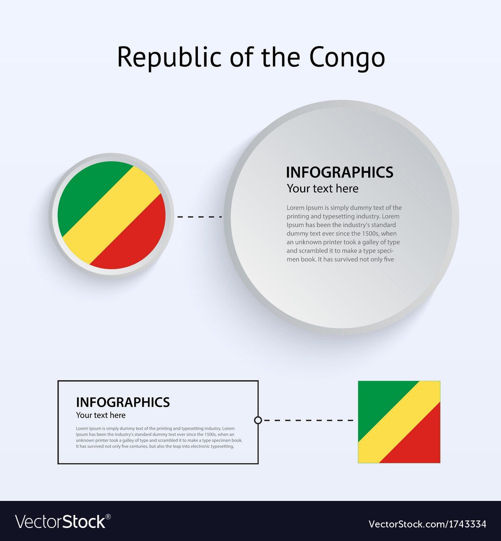 Republic of the congo country set vector | Price: 1 Credit (USD $1)