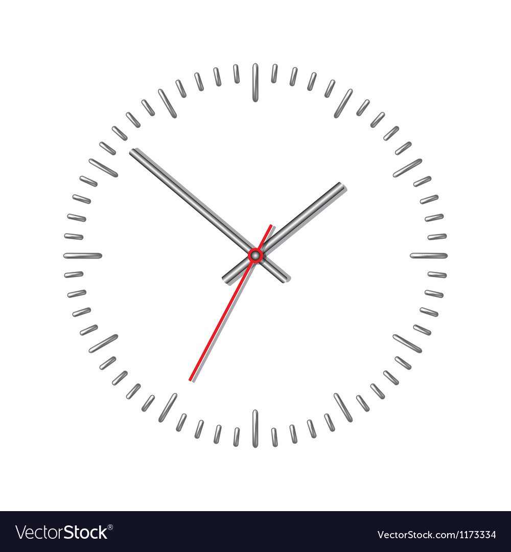 Wall mechanical clock vector | Price: 1 Credit (USD $1)