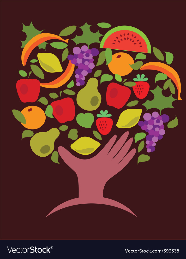 Food and vegetables vector | Price: 1 Credit (USD $1)