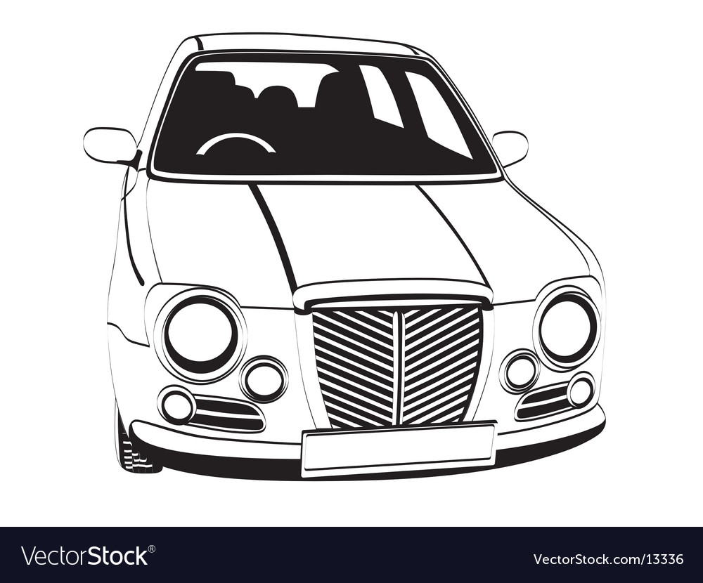 English car vector | Price: 1 Credit (USD $1)
