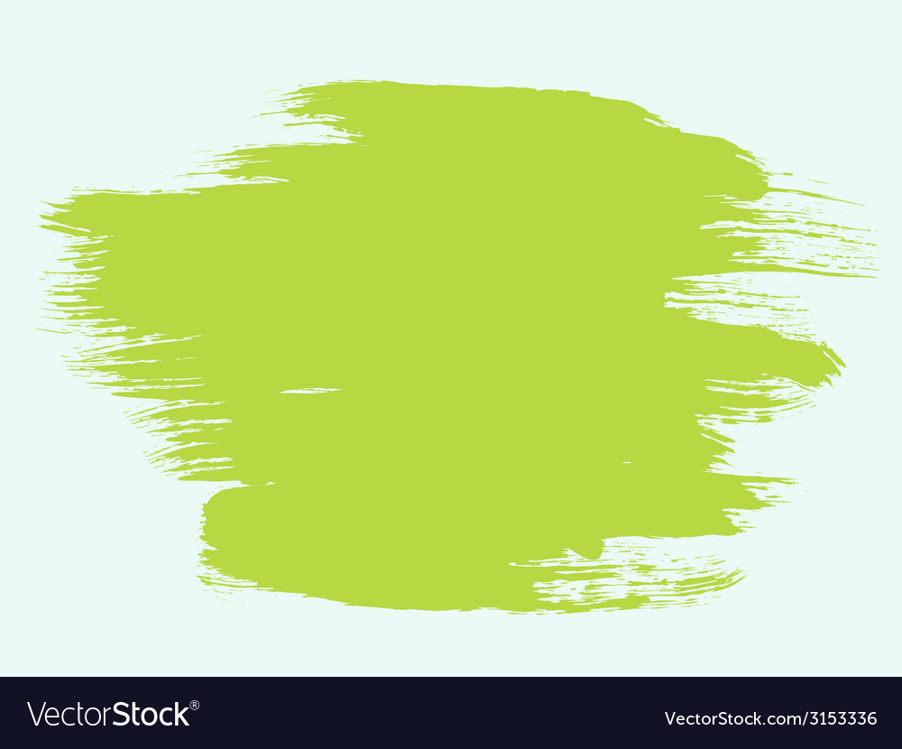 Green paint brush bg vector | Price: 1 Credit (USD $1)