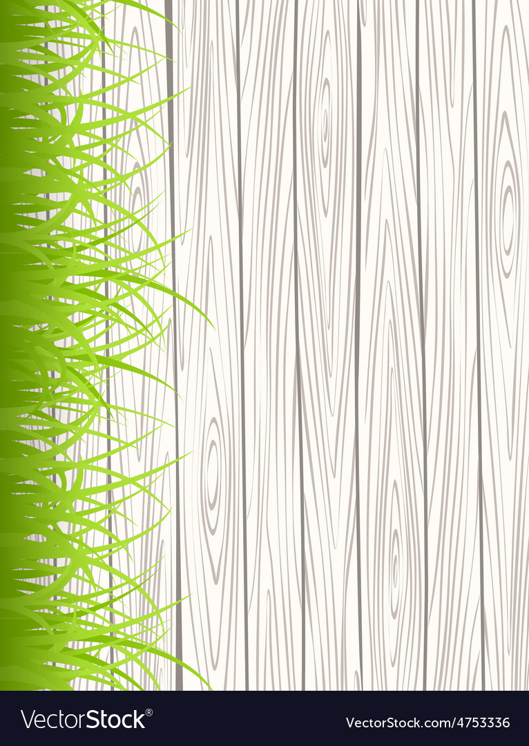 Wall with grass vector | Price: 1 Credit (USD $1)