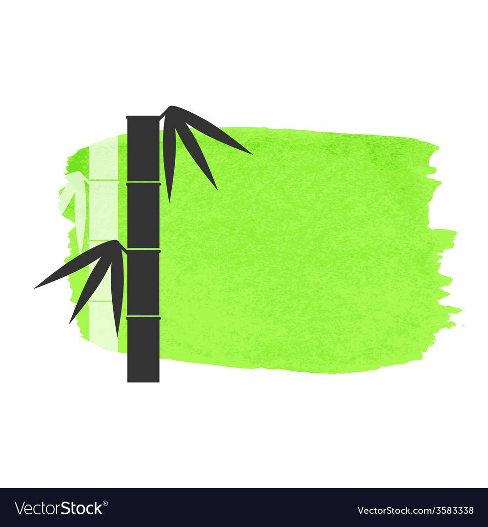 Bamboo stems background vector | Price: 1 Credit (USD $1)