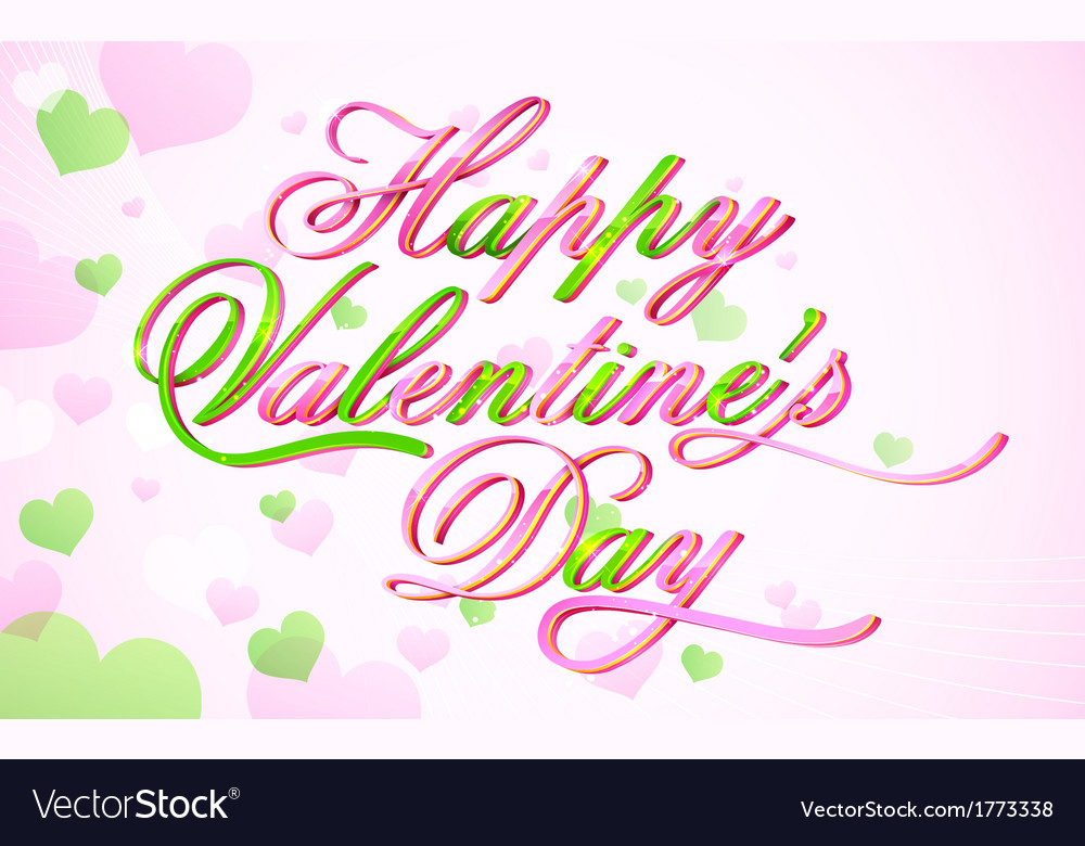 Happy valentines day vector | Price: 1 Credit (USD $1)