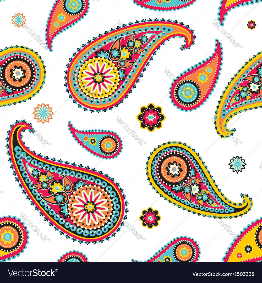 Paisley vector | Price: 1 Credit (USD $1)