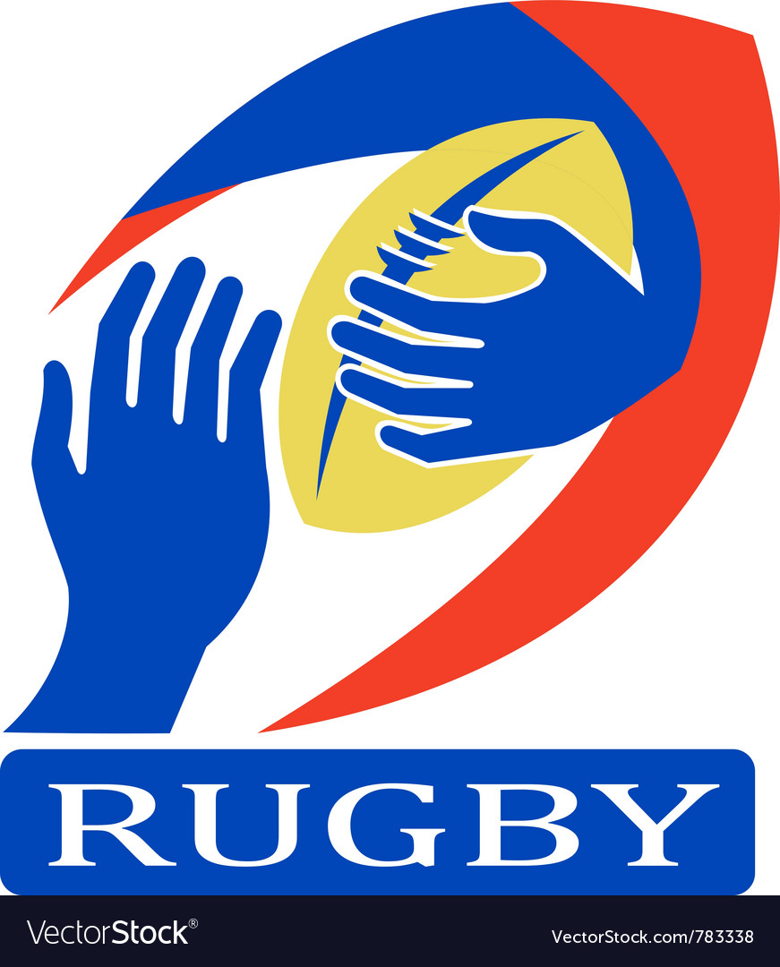 Rugby logo icon vector | Price: 1 Credit (USD $1)