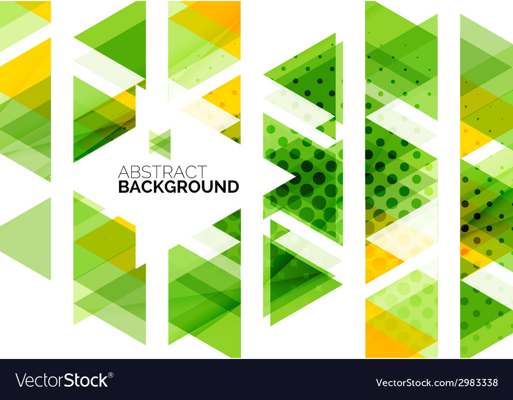 Triangles geometric clean abstract background vector   Price: 1 Credit (USD $1)