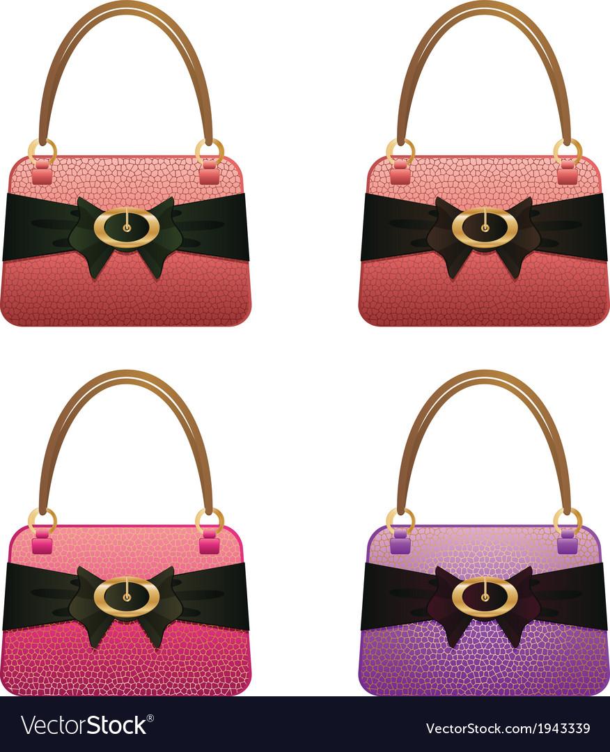 Fashion handbag vector | Price: 1 Credit (USD $1)