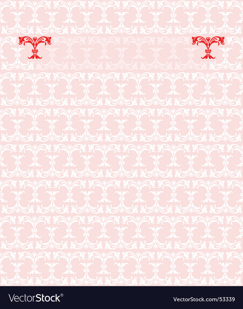 Red pink fashion plate background vector | Price: 1 Credit (USD $1)