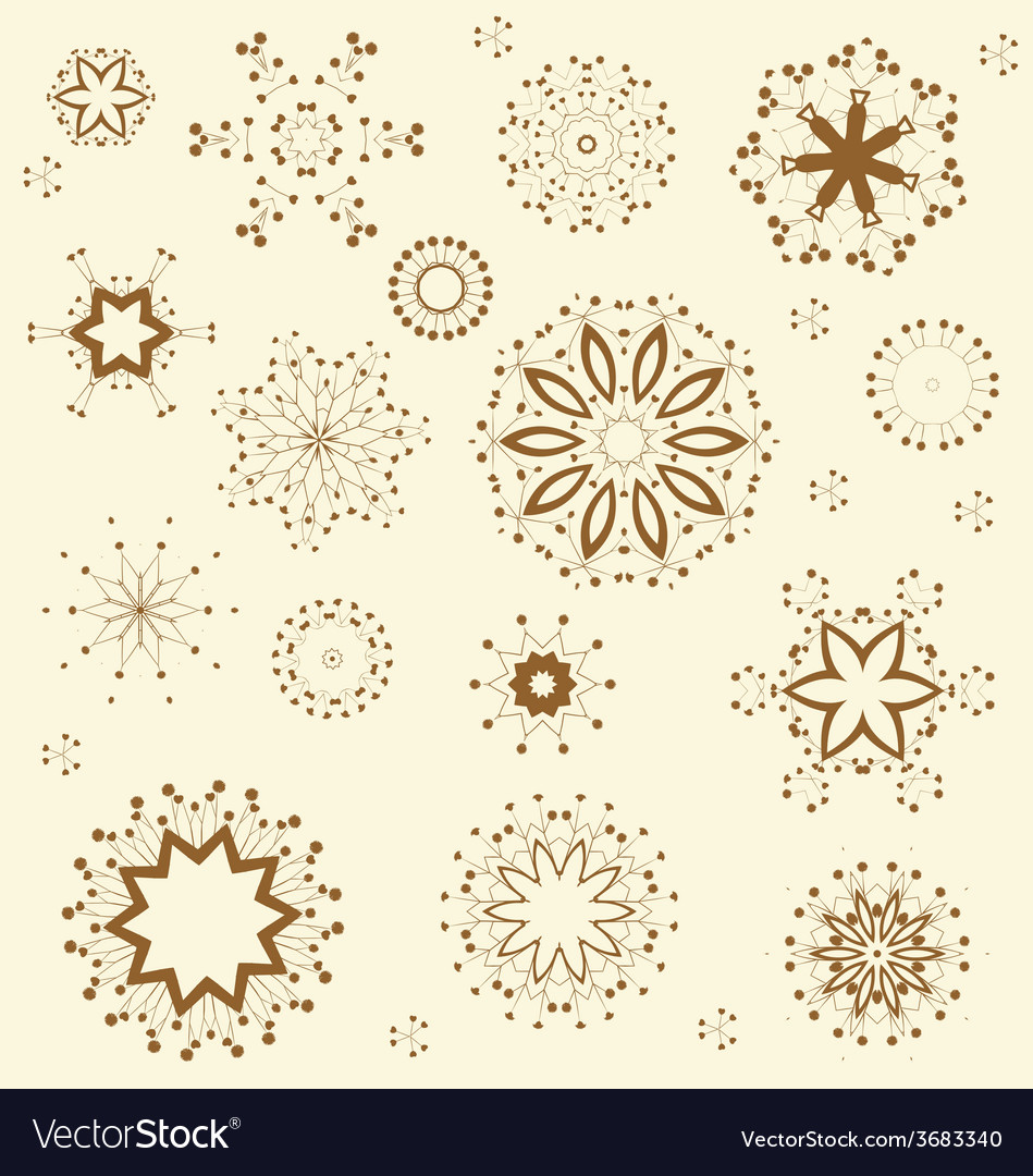 Floral ornament pattern vector | Price: 1 Credit (USD $1)