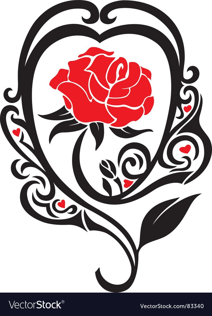 The rose vector | Price: 1 Credit (USD $1)