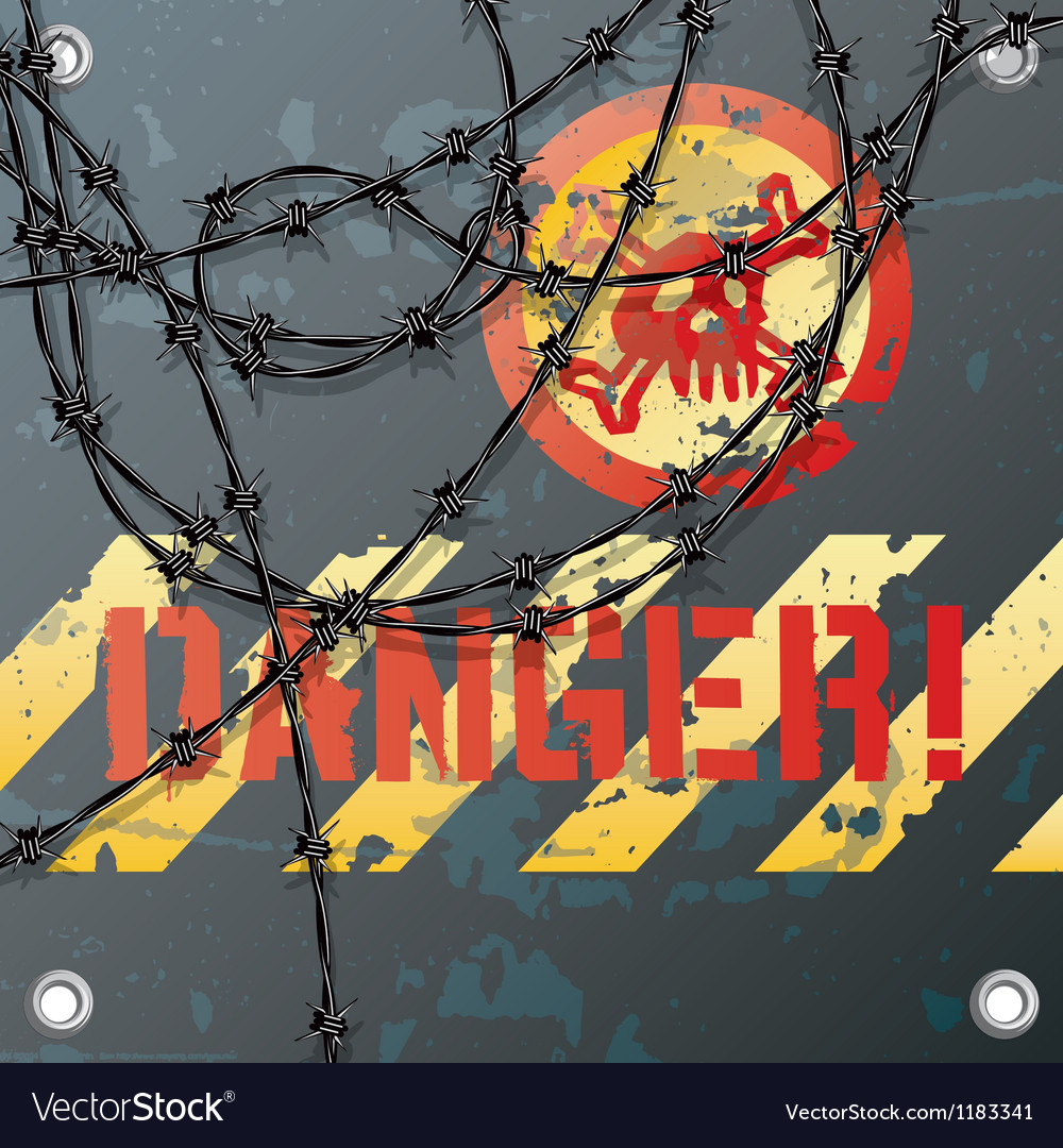 Danger sign vector | Price: 3 Credit (USD $3)