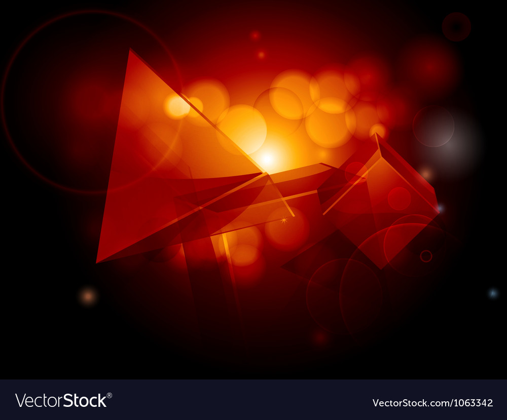 Abstract geometric glowing background vector | Price: 1 Credit (USD $1)