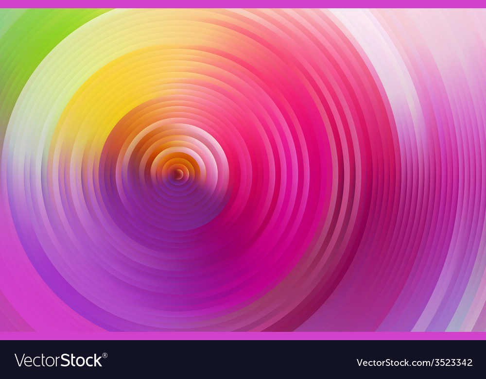 Abstract rainbow spiral colorful background vector   Price: 1 Credit (USD $1)