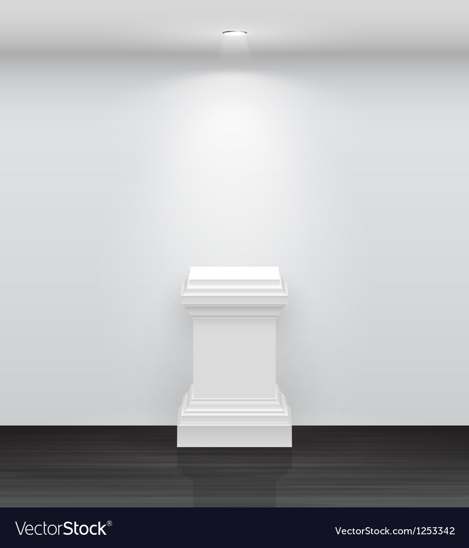 Exhibition column vector | Price: 1 Credit (USD $1)