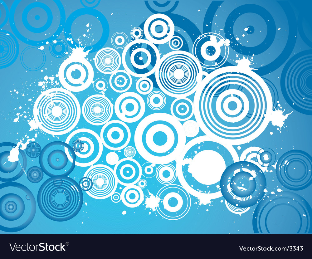 Grunge circle background vector | Price: 1 Credit (USD $1)
