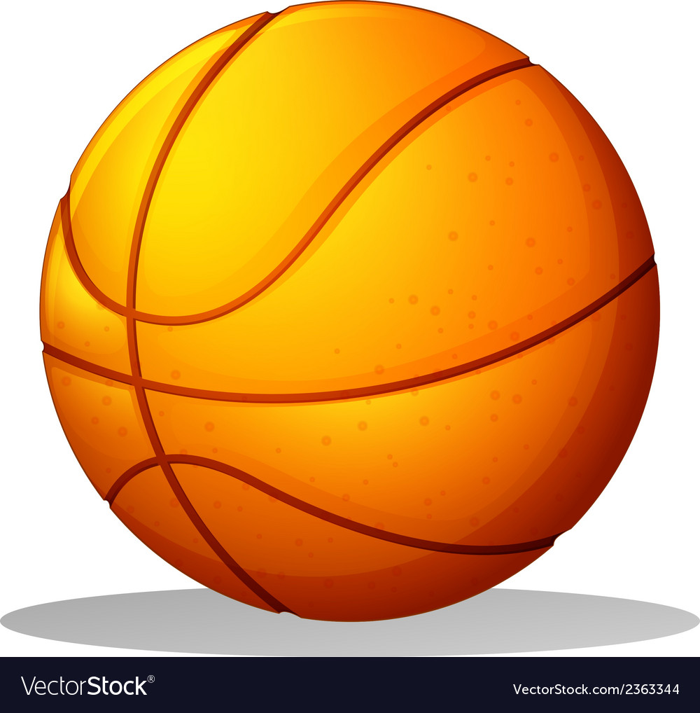 A basketball ball vector | Price: 1 Credit (USD $1)