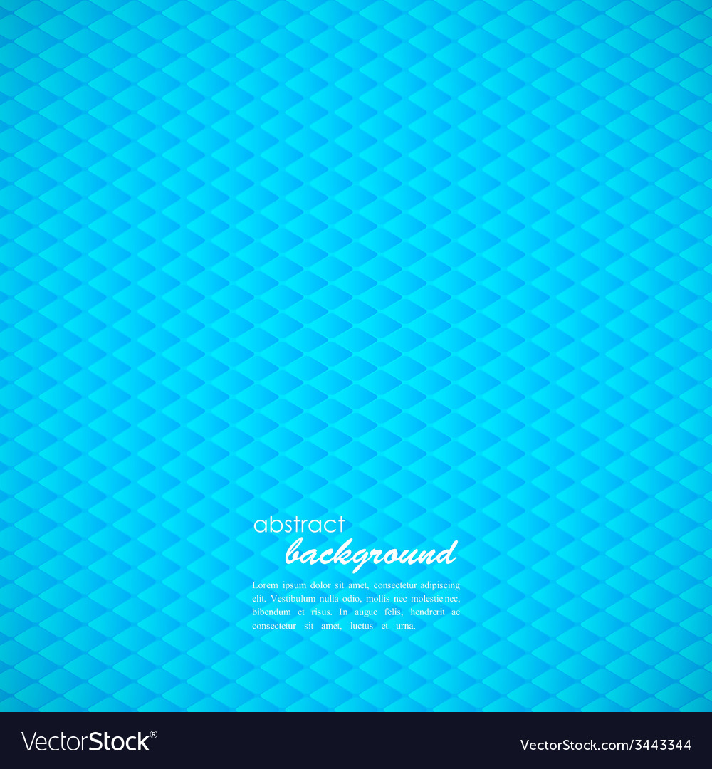 Abstract blue background with rhombus vector | Price: 1 Credit (USD $1)