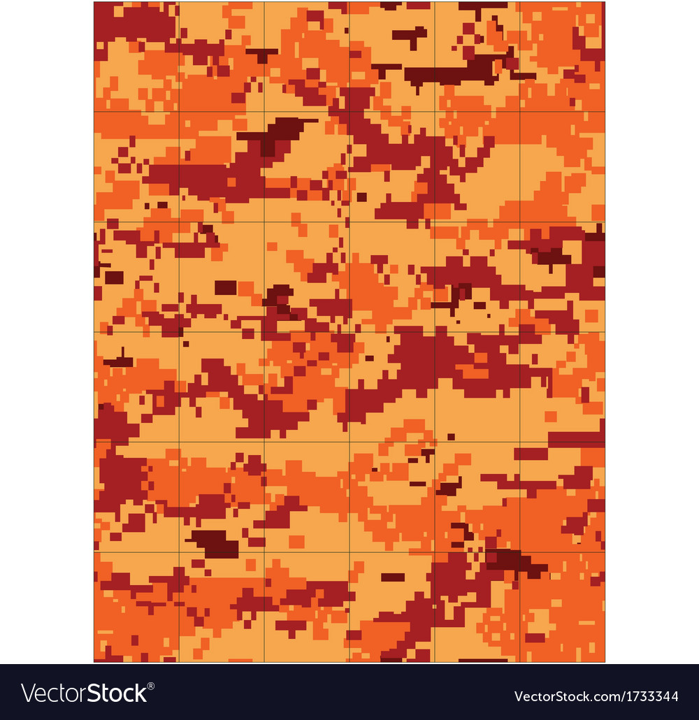 Fire camo tileable vector | Price: 1 Credit (USD $1)