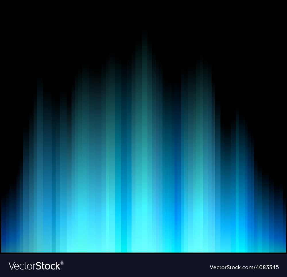 Northern aurora vector | Price: 1 Credit (USD $1)