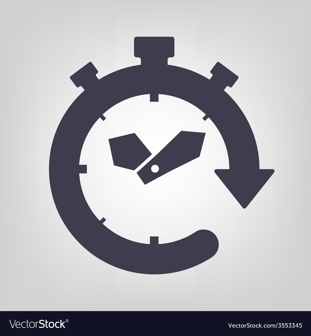 Timer icon vector   Price: 1 Credit (USD $1)