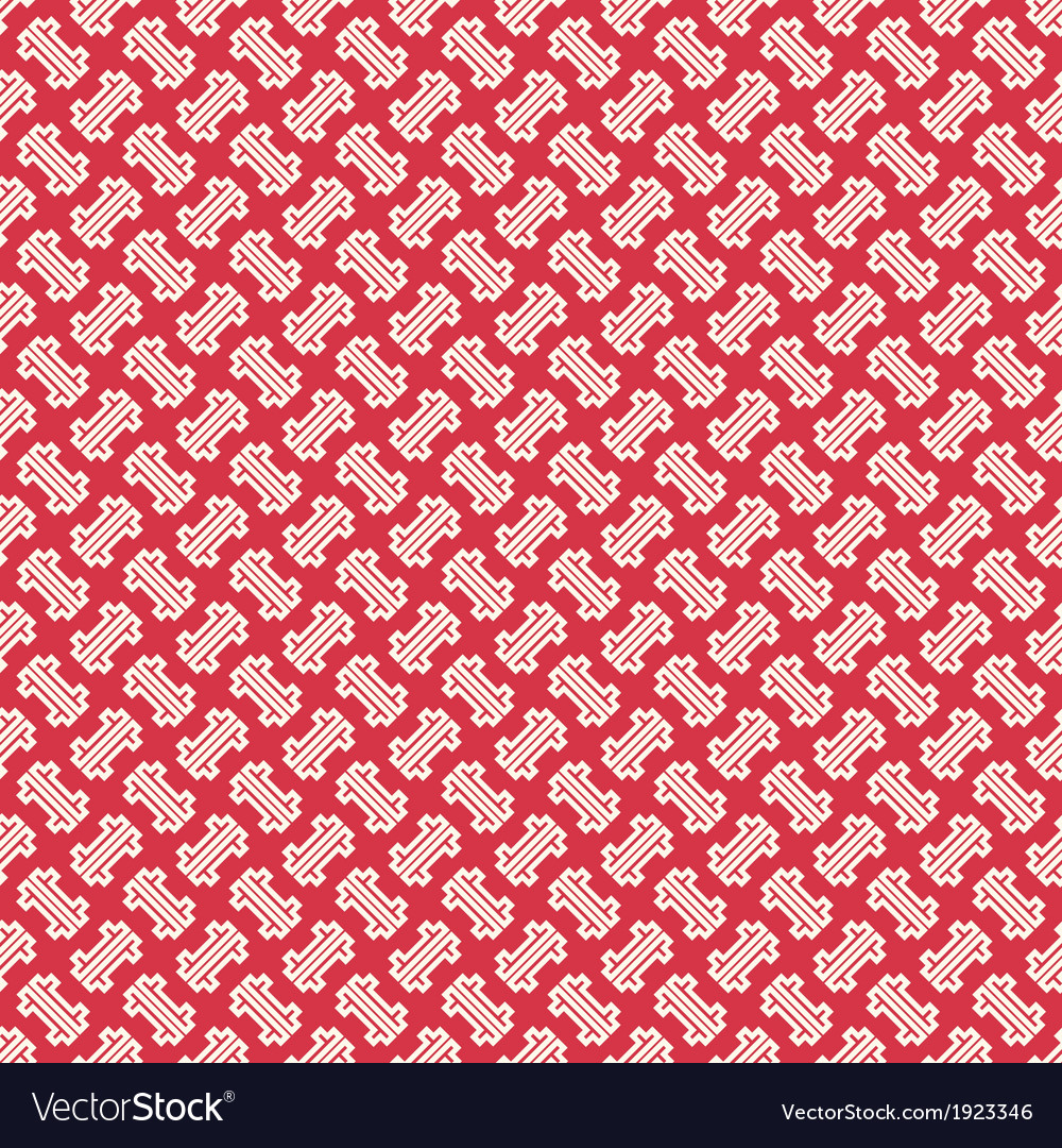 Abstract chinese geometric pattern wallpaper vector | Price: 1 Credit (USD $1)