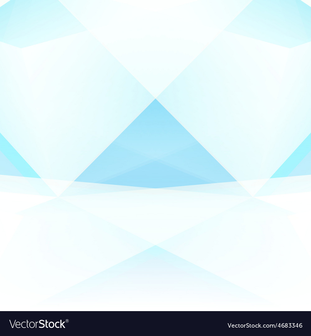 Abstract triangle geometrical light background vector | Price: 1 Credit (USD $1)
