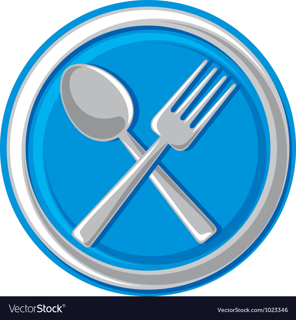 Restaurant symbol vector | Price: 1 Credit (USD $1)