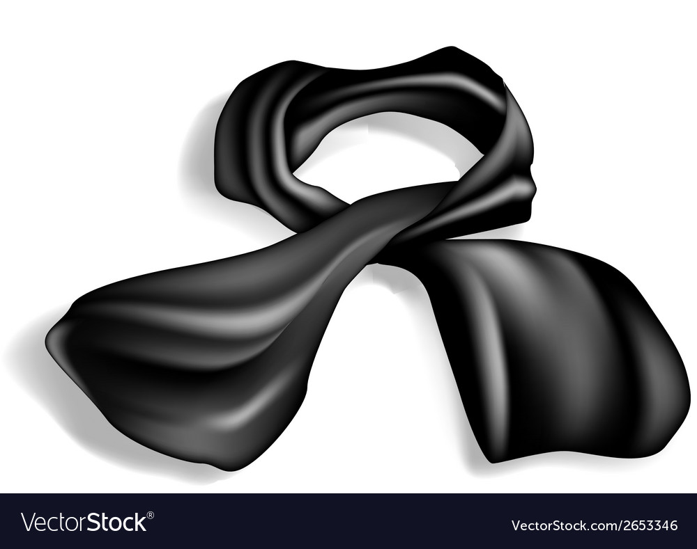 Silk scarf vector | Price: 1 Credit (USD $1)