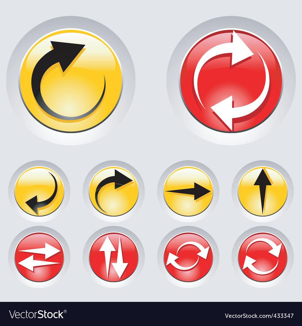 Arrow icons vector | Price: 1 Credit (USD $1)