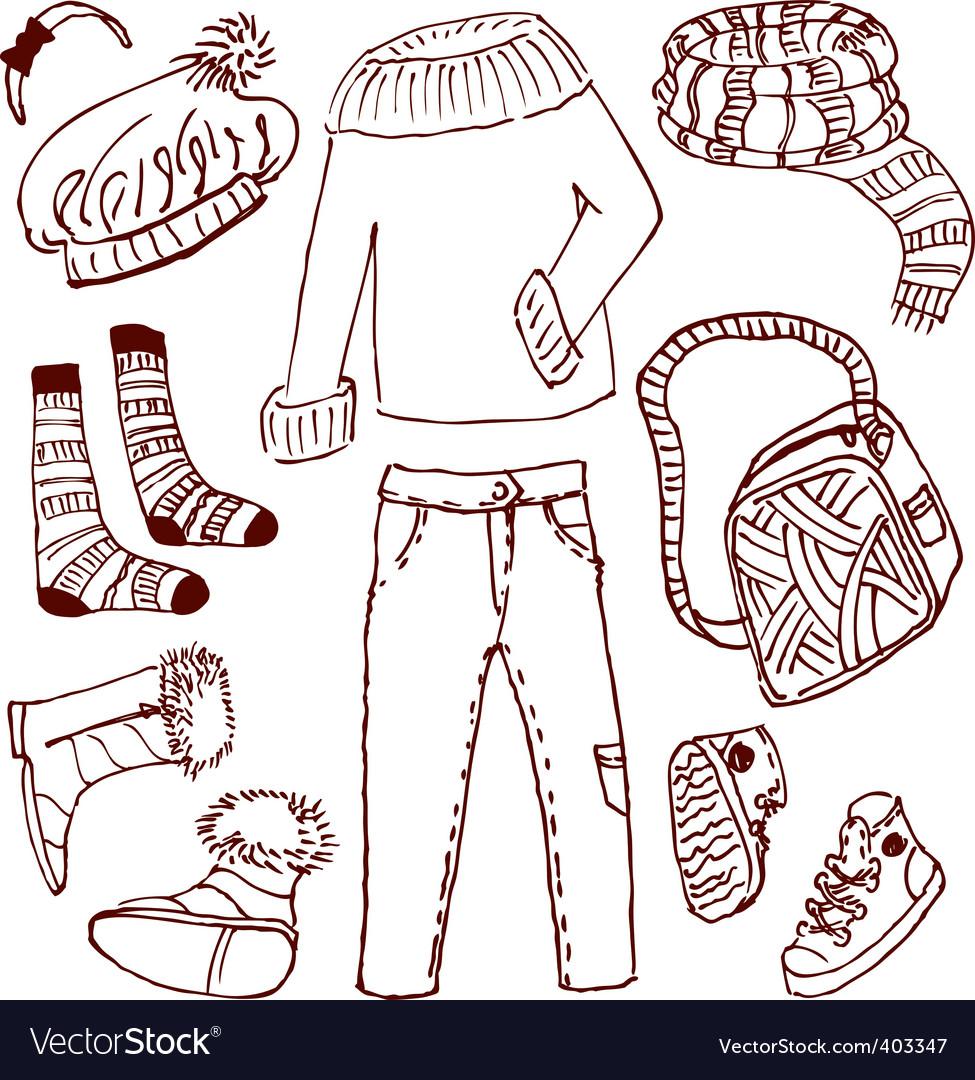 Clothes vector | Price: 1 Credit (USD $1)
