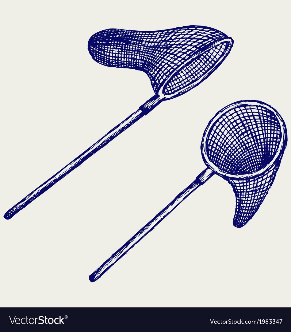 Fishing net vector | Price: 1 Credit (USD $1)