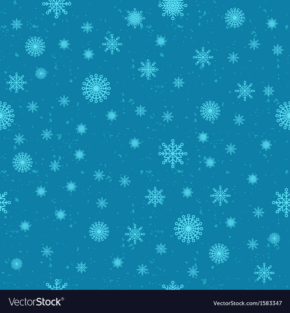Snow seamless background vector | Price: 1 Credit (USD $1)