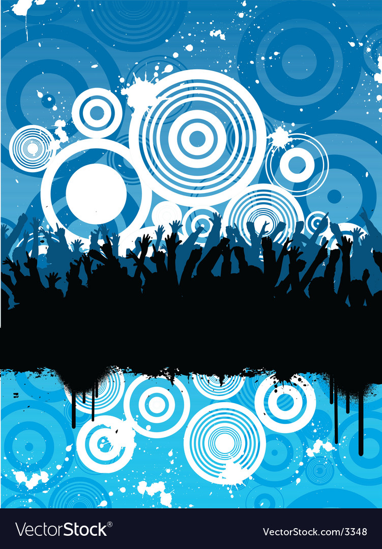 Grunge party vector | Price: 1 Credit (USD $1)