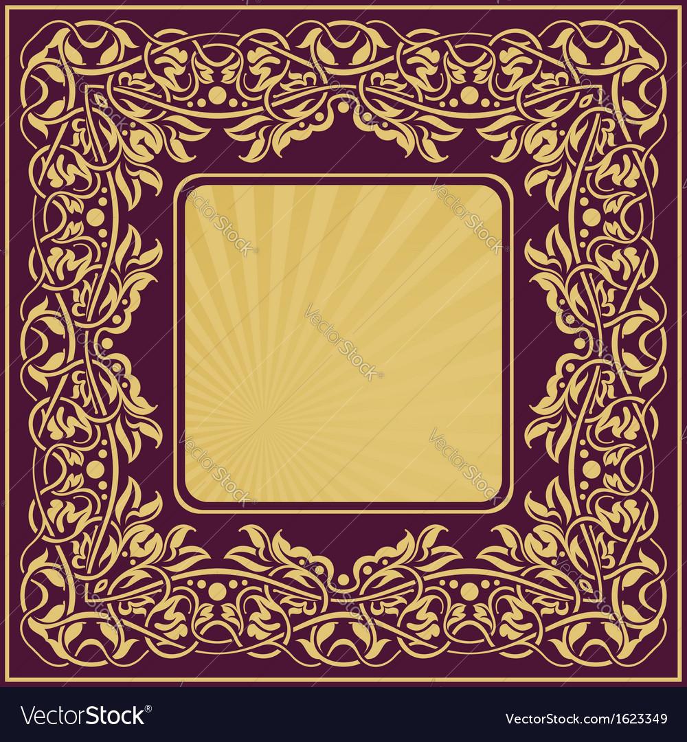 Frame border vector | Price: 1 Credit (USD $1)