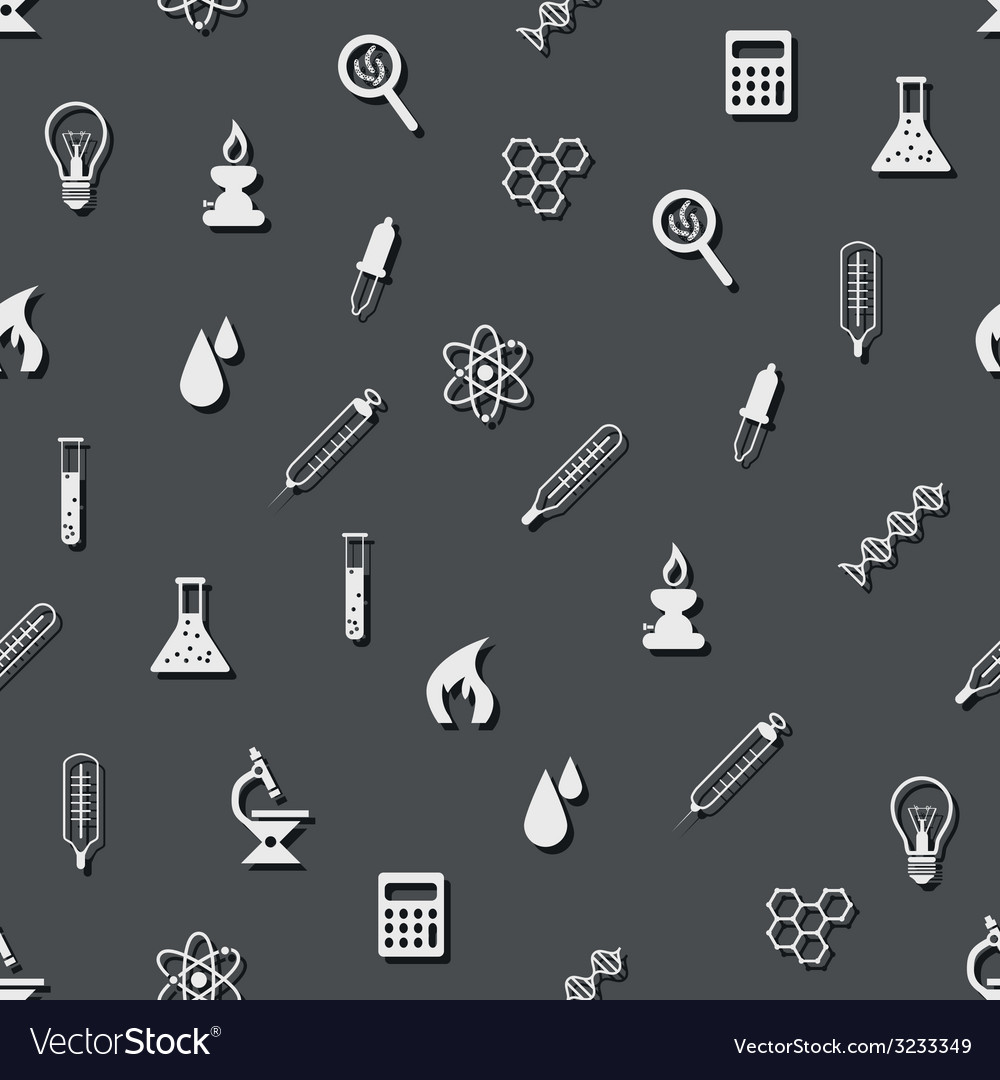 Seamless laboratory pattern vector | Price: 1 Credit (USD $1)