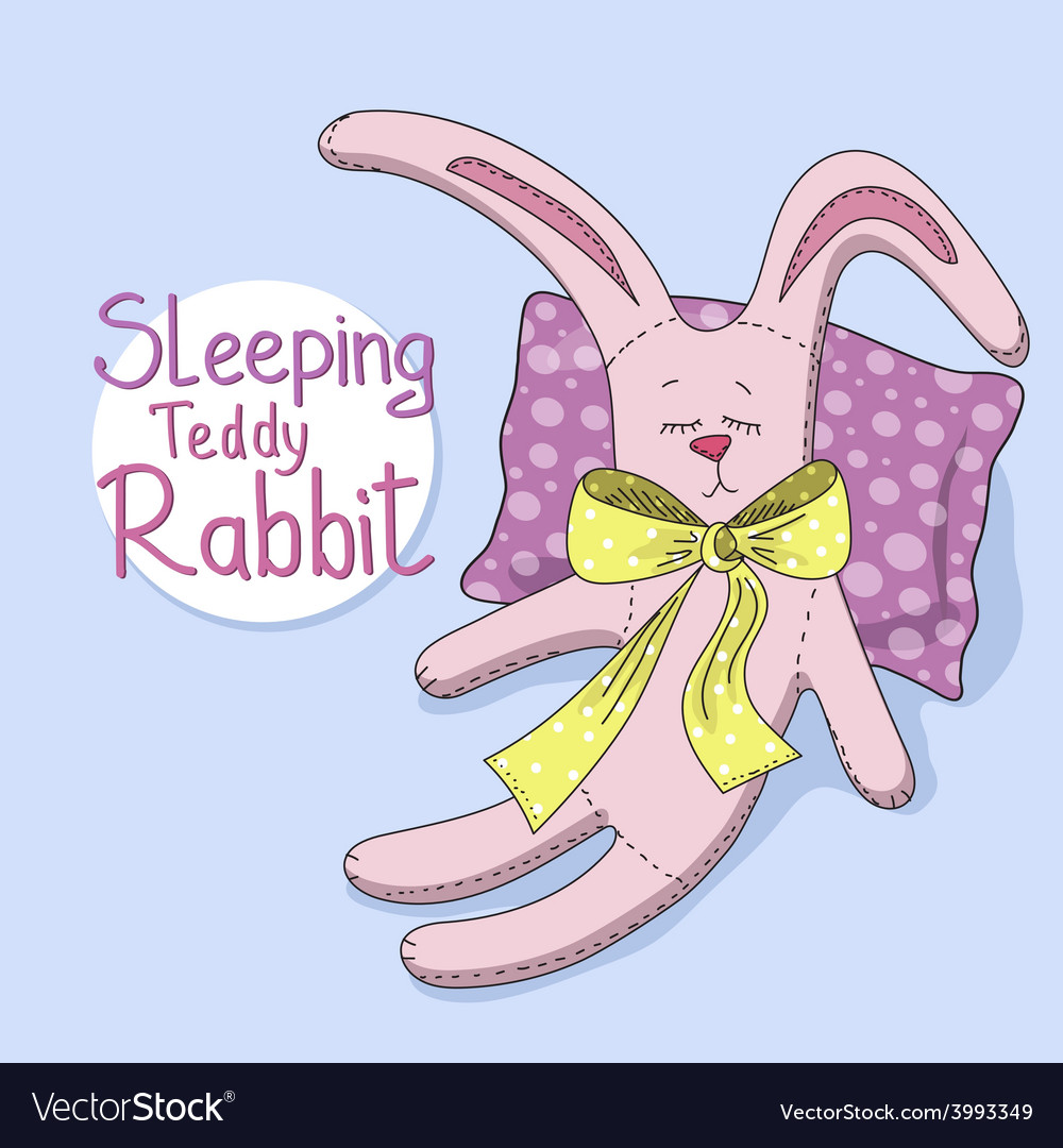 Teddy rabbit vector | Price: 1 Credit (USD $1)