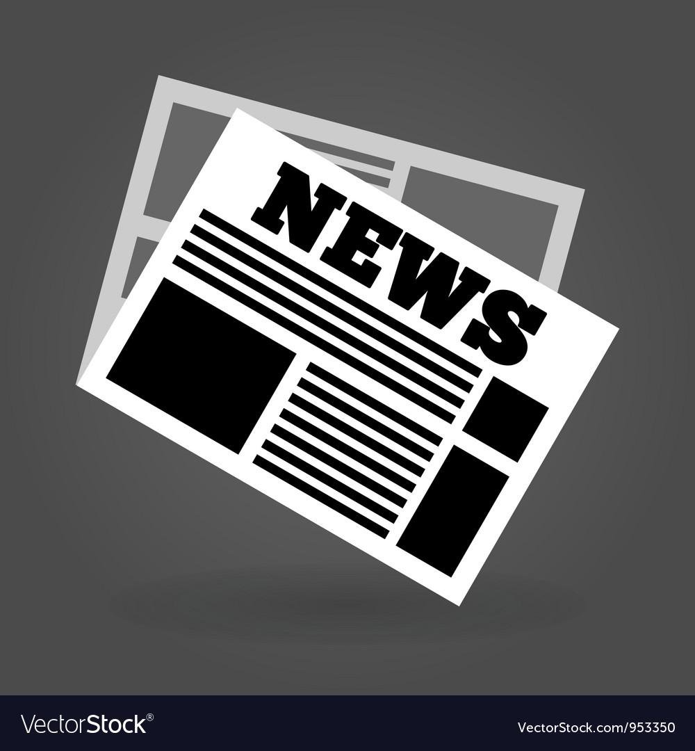 News icon vector | Price: 1 Credit (USD $1)