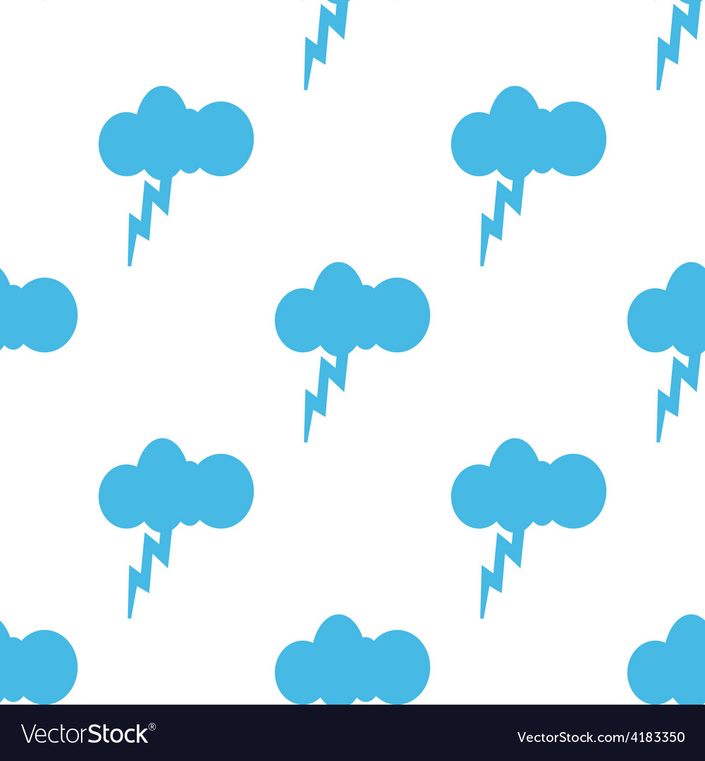 Storm seamless pattern vector | Price: 1 Credit (USD $1)
