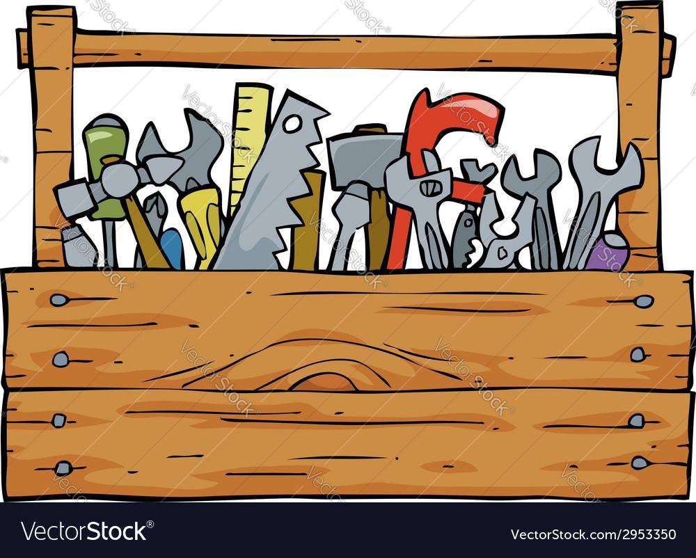 Toolbox vector | Price: 1 Credit (USD $1)