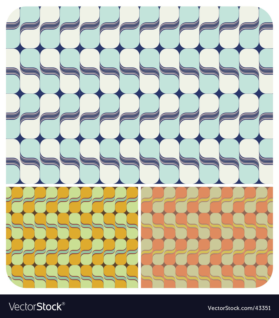 Retro swirls vector | Price: 1 Credit (USD $1)