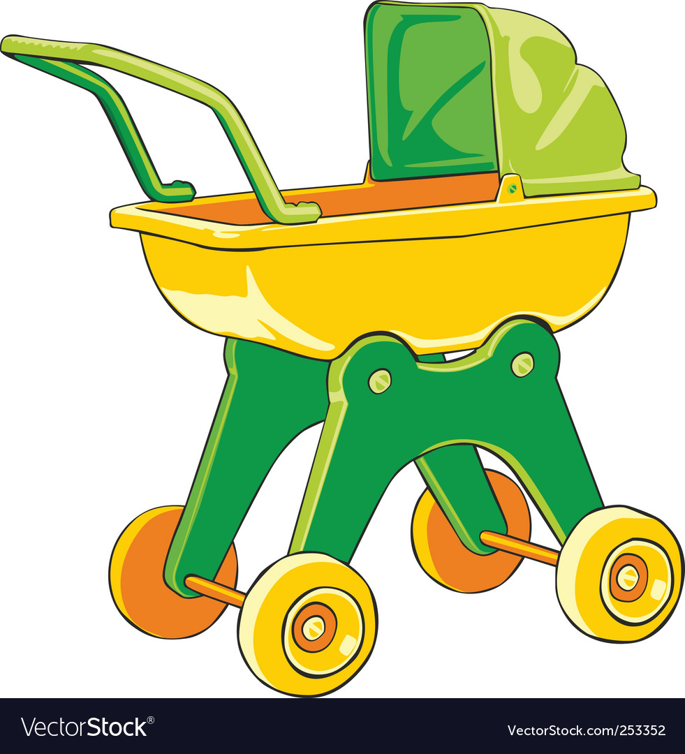 Baby car vector | Price: 1 Credit (USD $1)