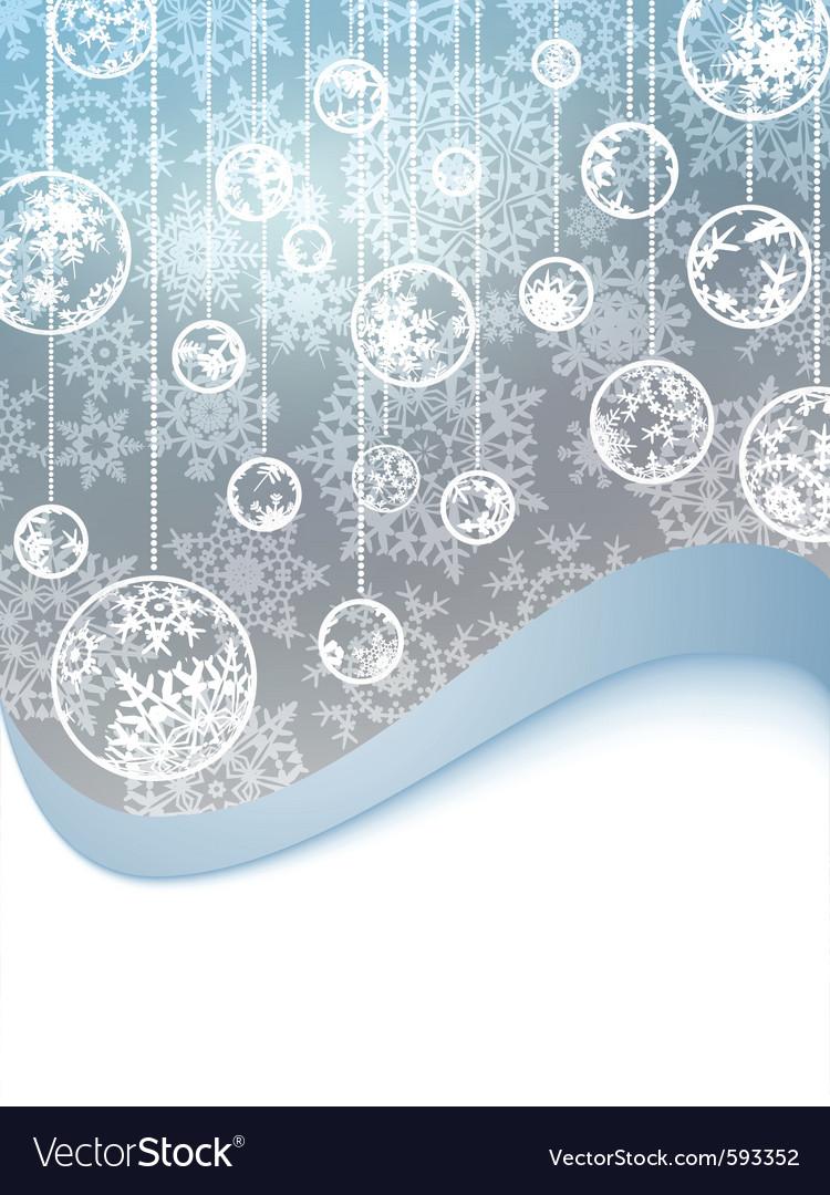 Elegant christmas background vector   Price: 1 Credit (USD $1)