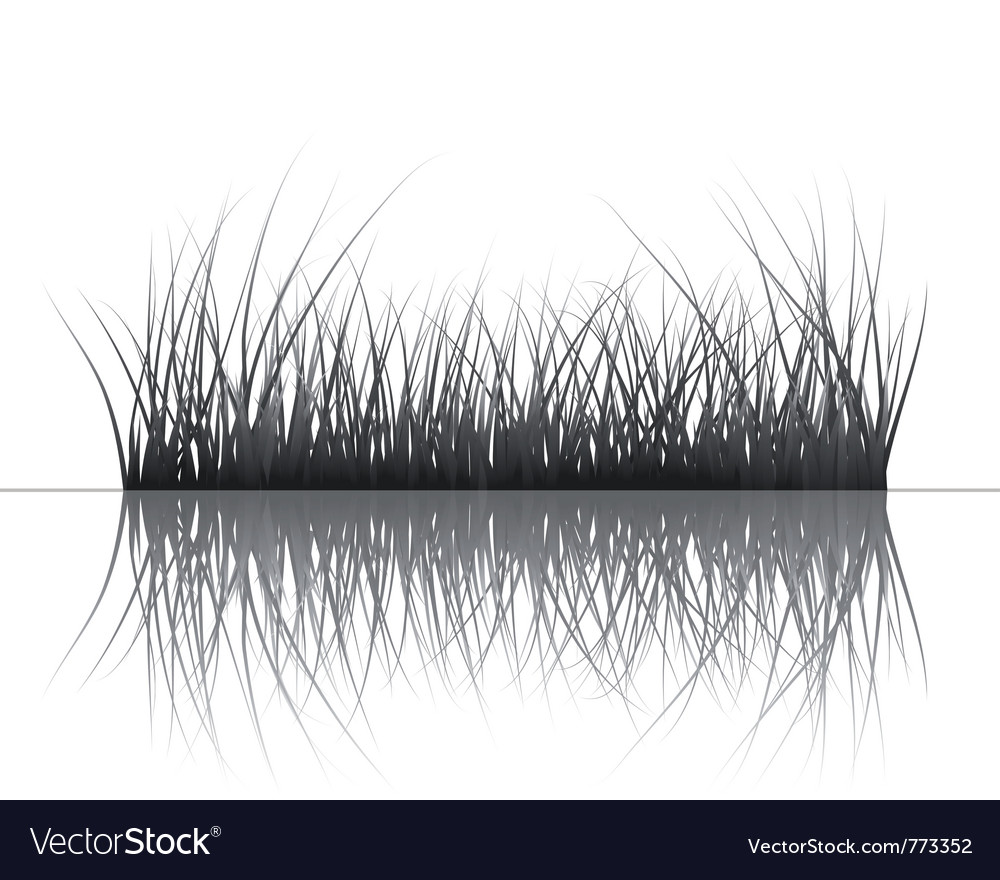 Grass silhouettes background vector   Price: 1 Credit (USD $1)