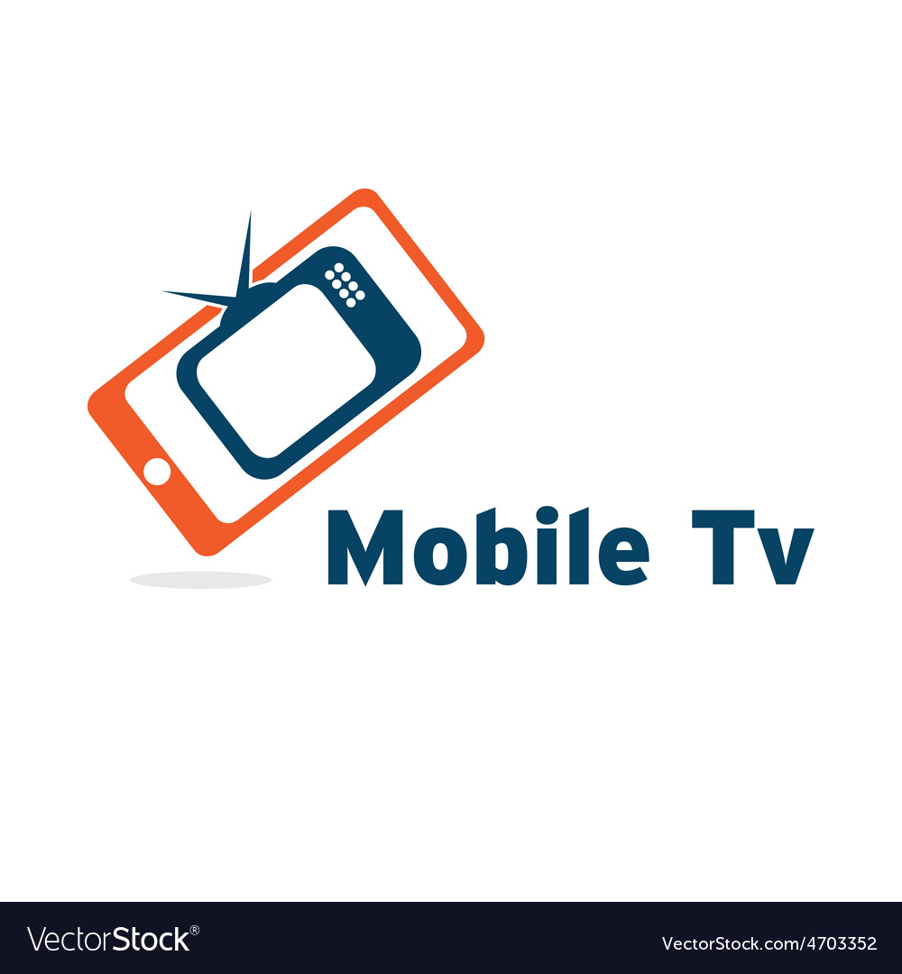 Mobile tv vector | Price: 1 Credit (USD $1)
