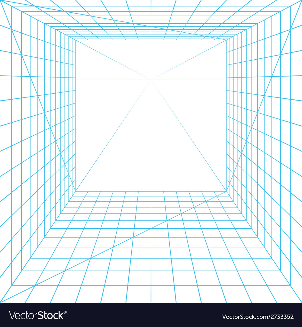 Perspective grid vector | Price: 1 Credit (USD $1)