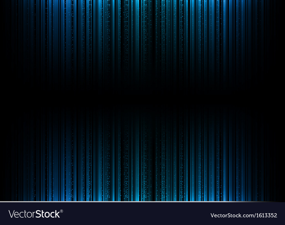 Vertical lines abstract blue dark top down vector | Price: 1 Credit (USD $1)