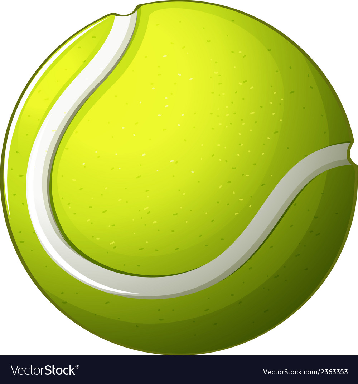 A tennis ball vector | Price: 1 Credit (USD $1)